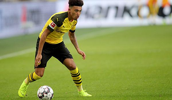 Bundesliga: Sancho reveals: This is my favourite player