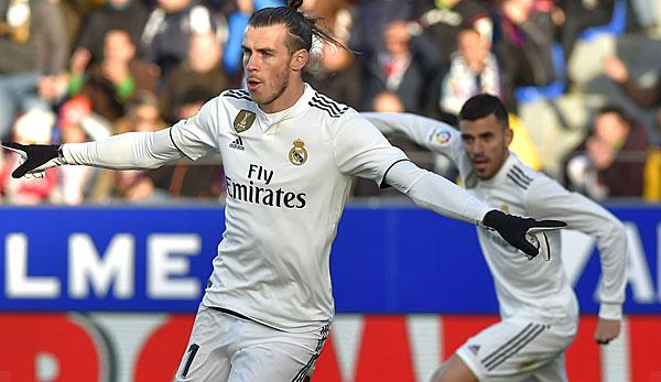 Primera Division: Thanks to Bale: Real wins dullly at the last one