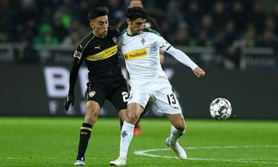 Bundesliga: Gladbach's Joker, a sending-off and an own goal finish the VfB