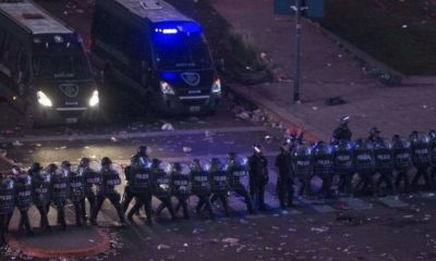 International: Riots in Buenos Aires after River victory