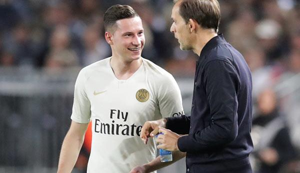 """Champions League: Julian Draxler exclusive: """"Friends of the DFB-Team know what I do at PSG"""""""